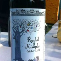 Customized Wine Label designed just for your wedding day!