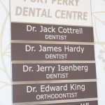 This directory board can easily interchange with other name plates as the need arises