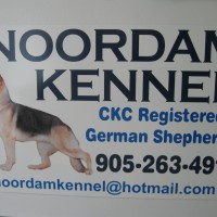 This client had me make up customized kennel forms in duplicates, professional pedigree certificates, vehicle magnets and lawn signs and has been very busy ever since!