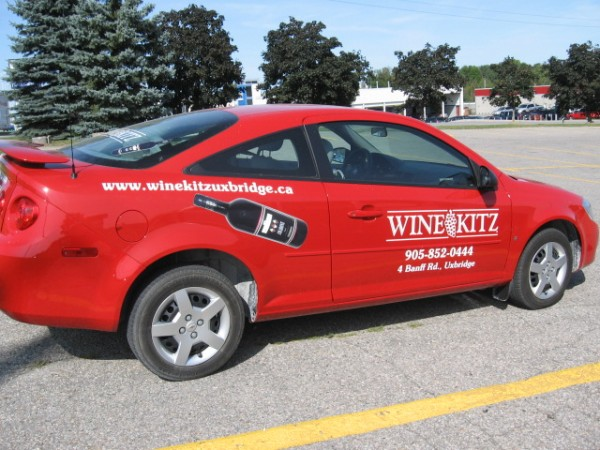 Use a digital image to further enhance the vinyl lettering on your vehicle. Completely removable and UV resistant.