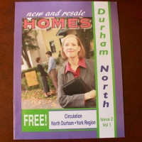 On team to design monthly magazine displaying realtor advertising